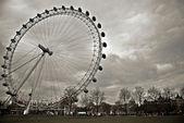 London Eye in London — Stock Photo