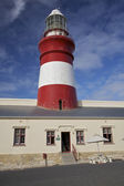Cape Agulhas lighthouse, South Africa — Stock Photo