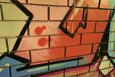 Graffiti writting — Stock Photo