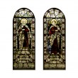 Stock Photo: Religious Stain Glass Windows