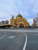 Melbourne, stazione di flinders street — Foto Stock