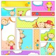Kids Banner — Stock Vector #10124481