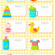 Royalty-Free Stock Imagen vectorial: Baby Label