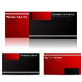 Cartão de visita — Vetor de Stock