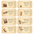Vector de stock : Vintage Movie Ticket