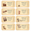 Royalty-Free Stock Vector Image: Vintage Movie Ticket