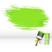 Trazo de pintura — Vector de stock