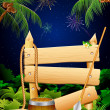 Jungle Party Banner - Imagen vectorial