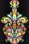 Colorful Swirl — Stockvektor