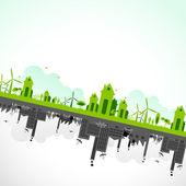 Udržitelnost země — Stock vektor