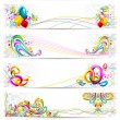 Royalty-Free Stock Vector Image: Colorful Banner