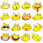 Smiley Frog — Stock Vector