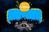 Disco Night — Stock Vector
