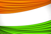 Indian Flag — Vector de stock