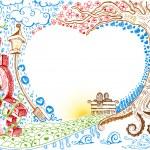 Love Doodle — Stock Vector #8348202