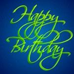 Birthday Card — Stock Vector #8376587
