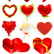 Royalty-Free Stock Imagen vectorial: Love Element
