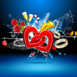 Royalty-Free Stock Immagine Vettoriale: Abstract Love Background