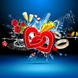 Royalty-Free Stock Imagem Vetorial: Abstract Love Background
