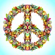 Colorful Peace — Stock Vector #8488478