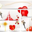 Royalty-Free Stock Vector Image: Wedding and Engagement Card
