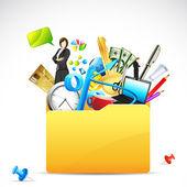 Business Folder — Stock Vector