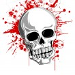 Scary Skull - Stock Vector