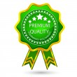 Premium Quality Badge - Stockvektor