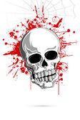 Scary Skull — Stock Vector