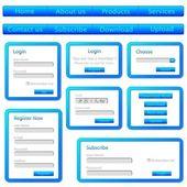 Web Templates — Stock Vector