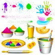 Royalty-Free Stock : Holi Element