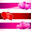 Love Banner - Image vectorielle