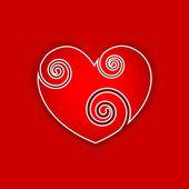 Love Sticker — Stock Vector