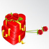 Love Gift — Stock Vector