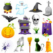 Stock Vector: Halloween Element