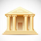 Bank Building — Stock Vector