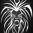 Lion tatto - Stock Vector