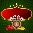 Постер, плакат: Casino Background
