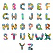 ABC Alphabet — Vettoriali Stock