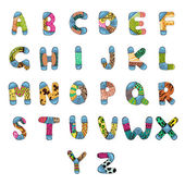 Alphabet Abc — Vecteur