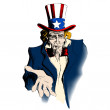 Uncle Sam — Stock Vector