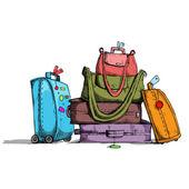 Luggagr — Stock Vector