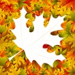 Stock Vector: Maple Leaf Background