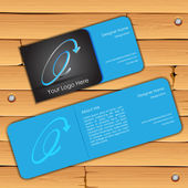 Visiting Card — Stockvektor