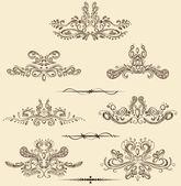 Vintage Design Element — Stock Vector