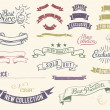 Vintage sale icons set - Stock Vector