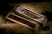 Handmade knife — Stock Photo