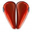 Heart made by motorbike gas tank - Stock Photo