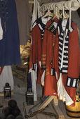 Hanging uniforms — Stock Photo
