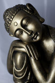 Relax thai buddha — Stock Photo